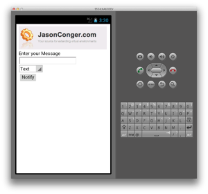 Android PhoneGap Demo 1